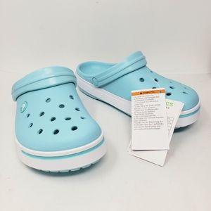 Crocs Crocband II Ice Blue Clogs Comfort Shoes